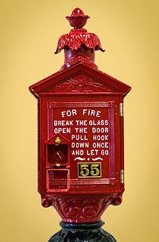 Fire Alarm Box Photograph