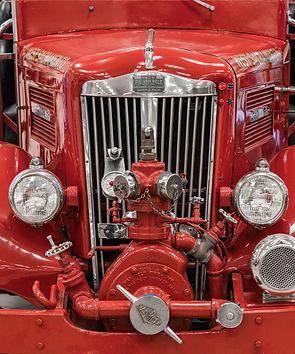 Fire Truck Grill Photograph 2