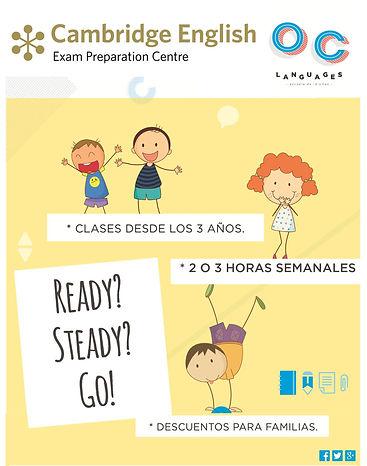 Cursos para niños y adultos. Preparación Cambridge, Trinity y Goethe