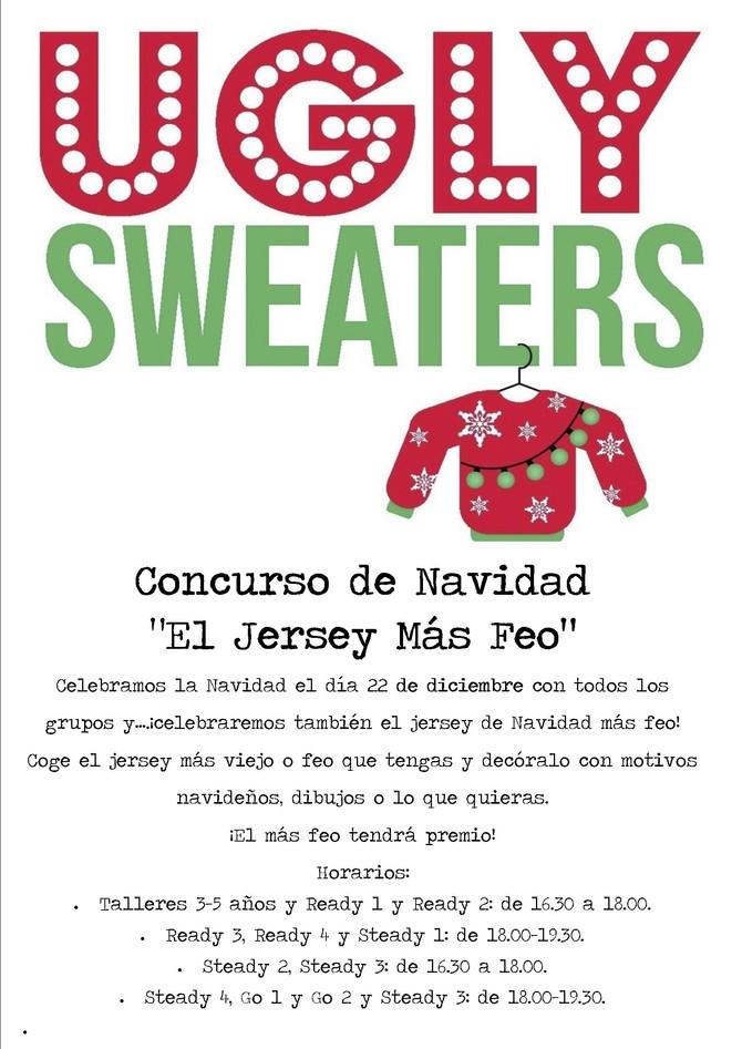 Concurso de Navidad: ¡El jersey más feo!