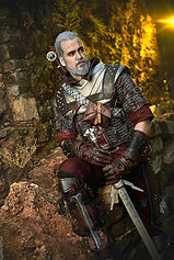The Witcher 3 Geralt Cosplay Mastercrafted Wolven Armor
