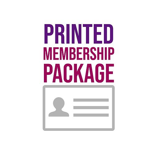 Printed Membership Package