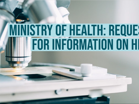 Ministry of Health: Request for Information for HPV from Cancer Care Ontario