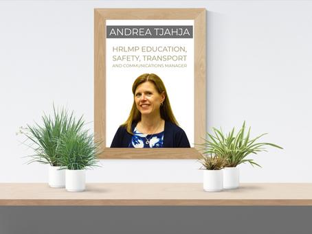 Member Profile: Andrea Tjahja