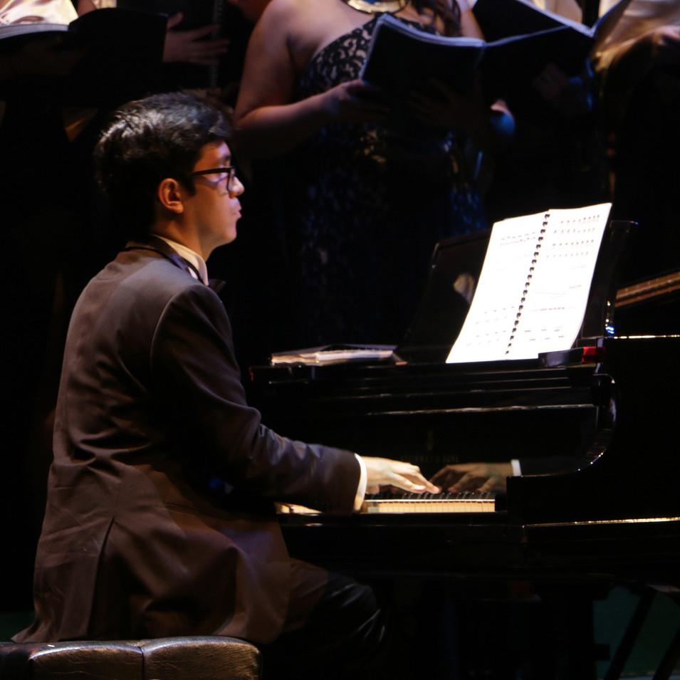 Sergio Castellanos, pianista