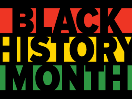 Happy Black History Month and Welcome Back!