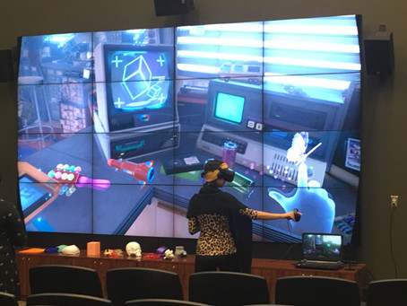 Field trip to the Advanced Visualization Center (AVC)!!