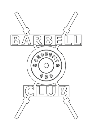 Barbell Club Custom 5""