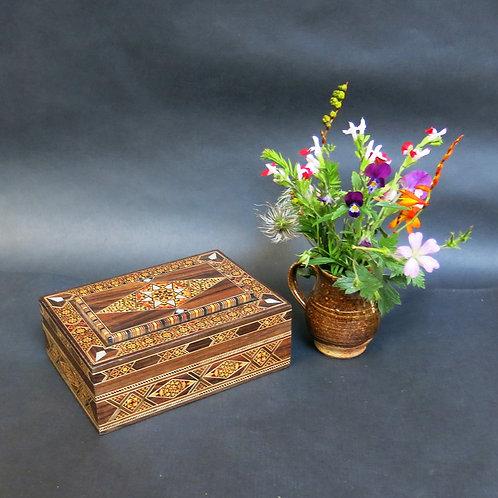 Medium Rectangular Mosaic Cigar Box