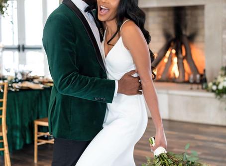 Romantic Emerald Elopement
