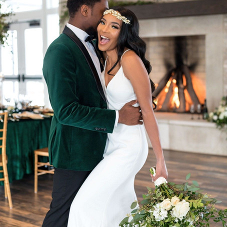 Romantic Emerald Elopement