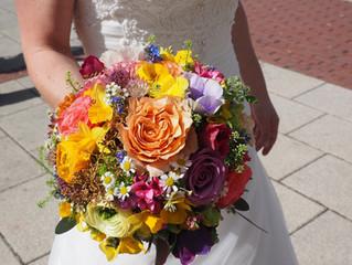 Bezpłatna lekcja florystyki - tajemnica bukietów ślubnych czyli technika drutowania