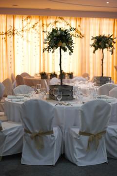 Kompozycje na stoły weselne