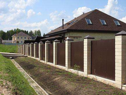 Строительство заборов в Томске