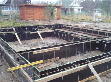Фундамент в Томске