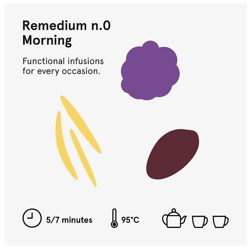 Remedium 0 Morning - Wilden. herbals 5 bustine
