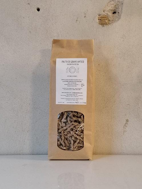 Pasta di grano antico macinato a pietra 500g - Casa Vallona