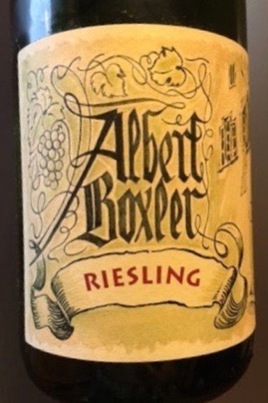 Riesling - Albert Boxler
