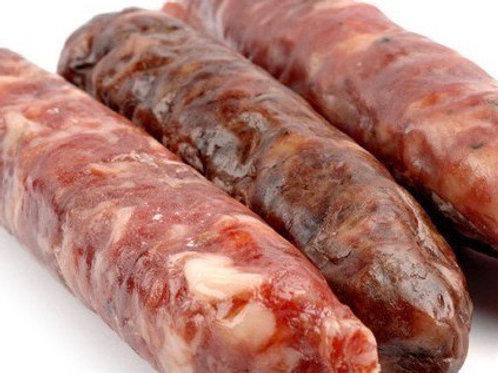 Salsiccia stagionata di mora romagnola 2pz
