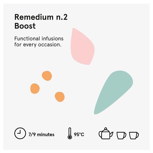 Remedium 2 Boost - Wilden. herbals  5 bustine