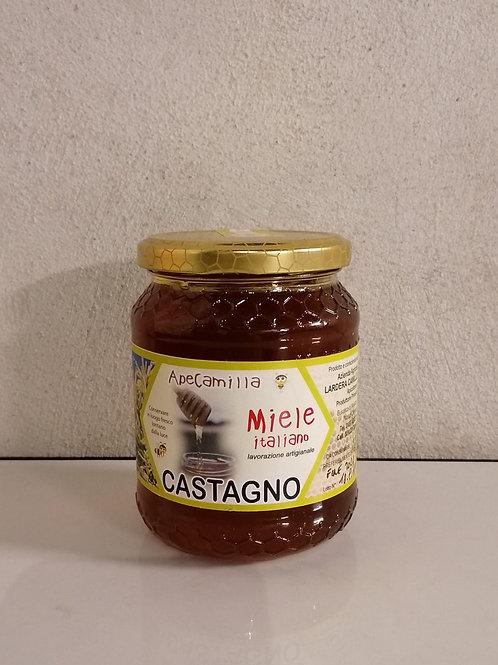 Miele di castagno biologico non certificato 500g