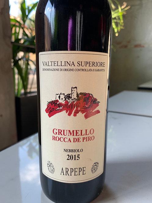 Grumello Rocca de piro 2015 - ARPEPE