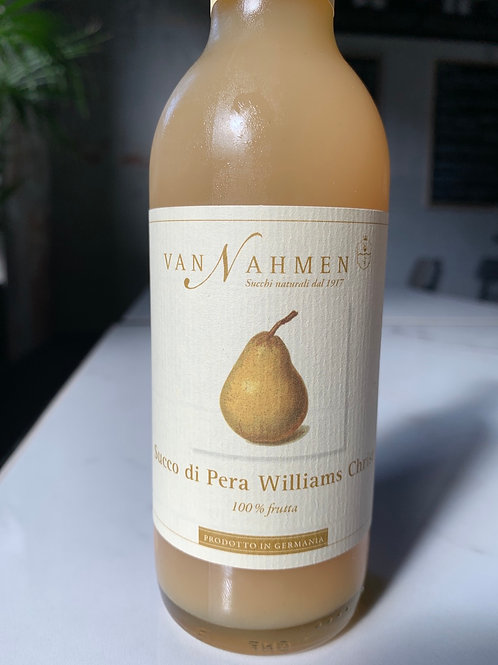 Succo di pera Williams Christ 250ml - Van Nahmen
