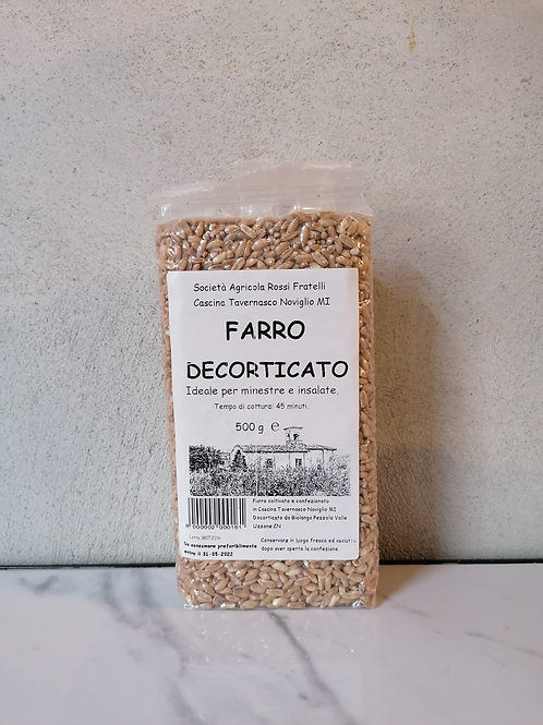 Farro decorticato 500g