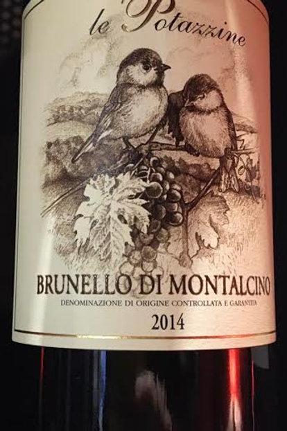 Brunello di Montalcino 2014 - Le Potazzine