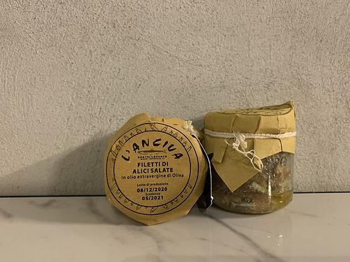Filetto di acciughe 130g - L'anciua Sestri Levante