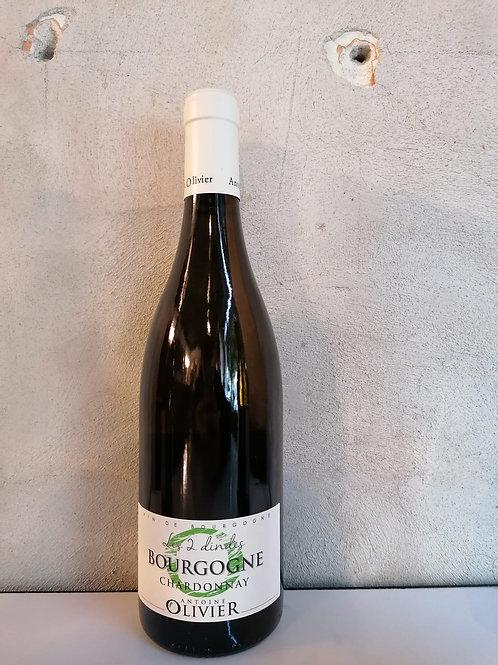 Les 2 Dindes Bourgogne Chardonnay - Antoine Olivier