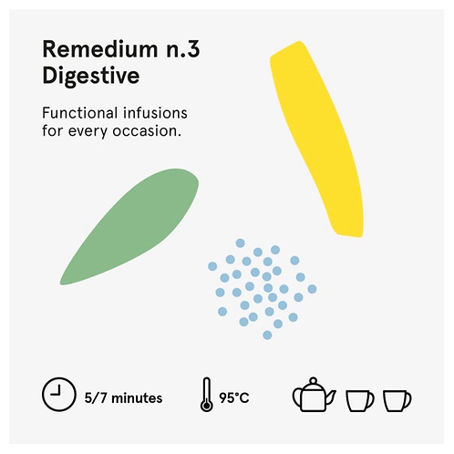 Remedium 3 Digestive - Wilden. Herbals 5 bustine