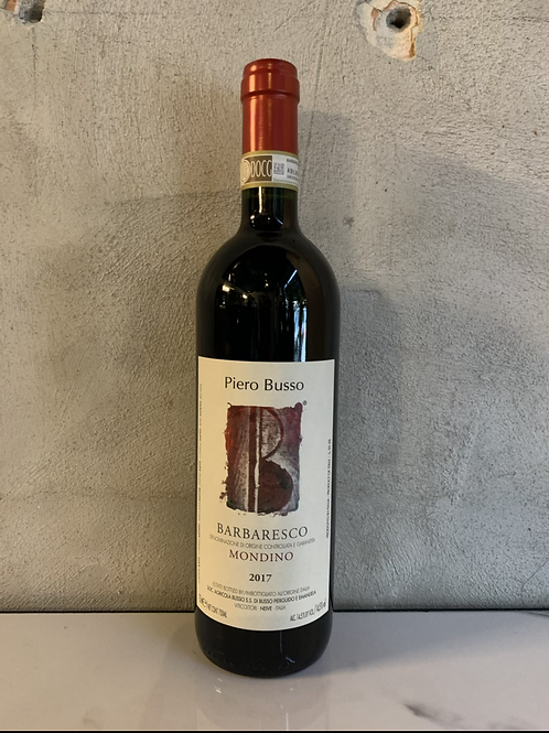 Barbaresco Mondino 2017 - Piero Busso