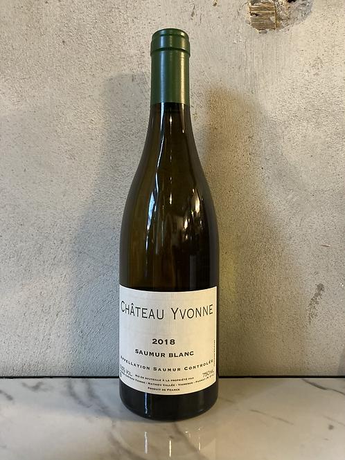 Saumur blanc 2018 - Château Yvonne