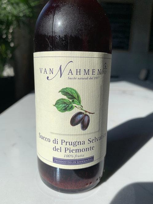 Succo di prugna selvatica del Piemonte 250ml - Van Nahmen
