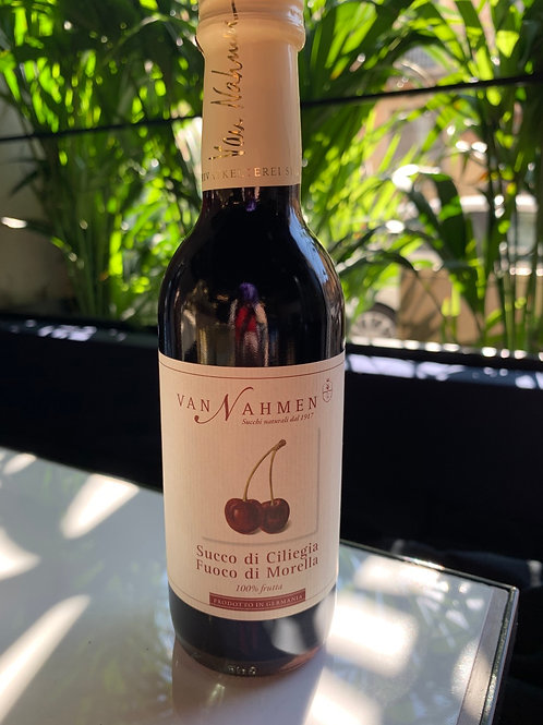 Succo di ciliegia Fuoco di Morella  250ml - Van Nahmen
