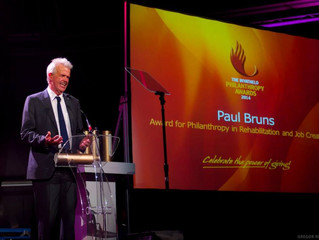Hlumelelisa Founder Paul Bruns Honoured by Inyathelo