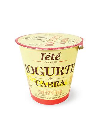 Iogurte de Cabra com Pêssego e Mel