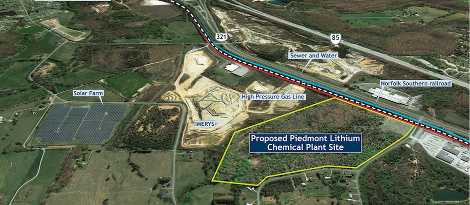 Piedmont's Foothold in Hydroxide