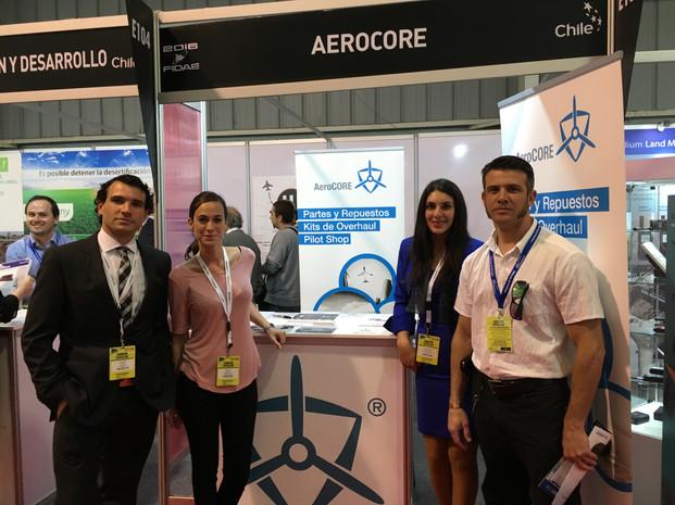 AeroCORE Staff FIDAE Chlie 2016
