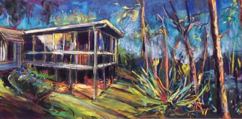 House Portrait Commission: Corinda 1950's Residence
