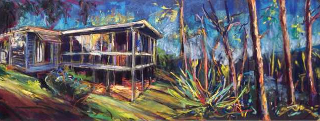 Corinda 1950's House Portrait