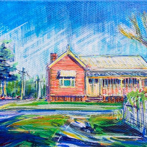 House Portrait: The Pink House Yeronga
