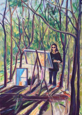 Mel in Toohey Forest