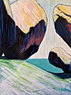 Sweeping Stone III