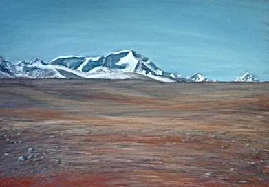 Cho Oyu Across the Tibetan Plateau