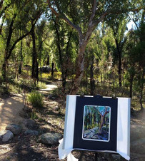 En Plein Air at Girraween