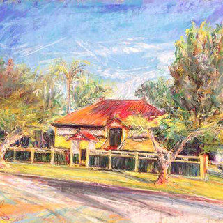 Yeerongpilly 1915 Era House Portrait