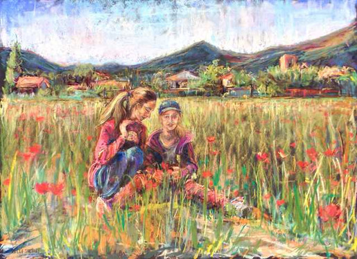 Sisters of the Poppy Field
