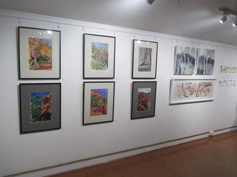 Flingers Ranges artworks in Ewart Gallery